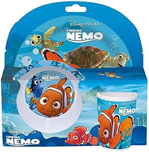 nuevo estilo Joy Toy 748390 Finding Nemo 2 Plates and and and 1 Cup in Gift Wrap (3-Piece) by Disney  punto de venta barato