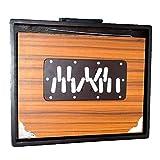 Caja de MAHARAJA Shruti–madera de teca de la India surpeti–13Drone notas c-to-c Shruthi India instrumento Musical