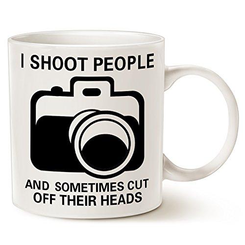 MAUAG Funny Photographer Coffee Mug Christmas...