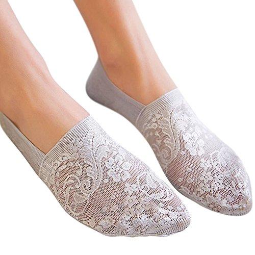 DOLDOA Sportsocken 3X Paar Herren & Damen Sneaker Socken Short knöchel-hohe Laufsocken Lange Haltbarkeit Dank Bester Qualität, (Hellgrau, 1)