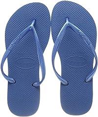 Idea Regalo - Havaianas Slim 4000030 Infradito Donna, Blu (Blue 0057), 39/40 EU
