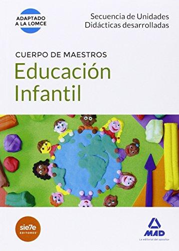 Cuerpo de Maestros Educación Infantil. Secuencia de unidades didácticas desarrolladas (Maestros 2015)