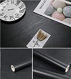 "118""×24"" Wood Black Wallpaper..."