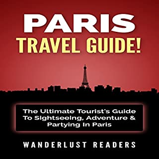 Paris Travel Guide cover art