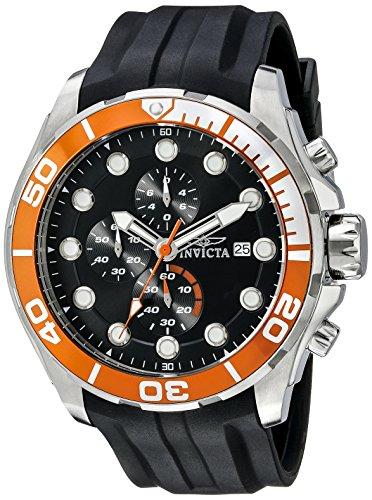 Invicta Men's 16230 Pro Diver Analog Display Japanese Quartz Black Watch