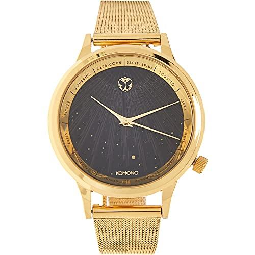 Komono X Tomorrowland Edición Limitada Lexi Royale Gold Reloj de mujer