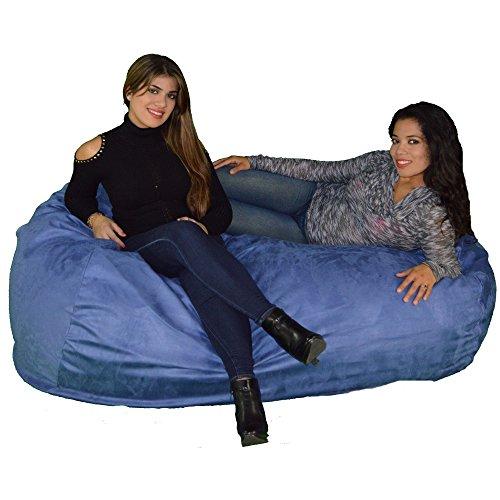 Cozy Sack 640-CBB-SKY Maui Beanbag Chair, 6', Sky Blue