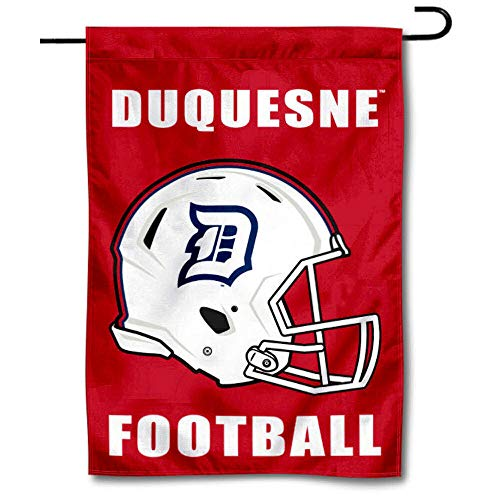 College Flags & Banners Co. Duquesne Dukes Football Helmet Garden Yard Flag