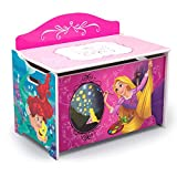 Delta Children Deluxe Toy Box, Disney Princess