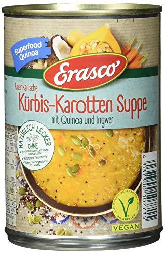 Erasco Amerikanische Kürbis-Karotten Suppe, 390 ml