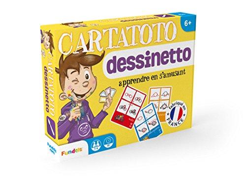 Cartatoto Dessinetto - Jeu Educatif