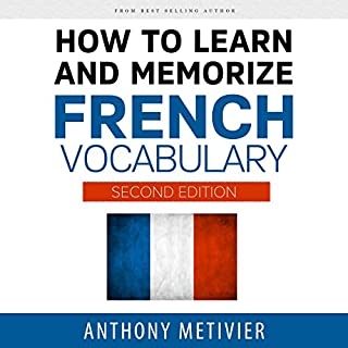 Couverture de How to Learn and Memorize French Vocabulary