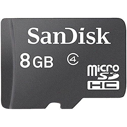 SanDisk microSDHC 8GB Memory Card