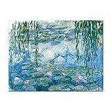 Cuadros Decoracion Lirio De Agua De Monet Cuadros Decoracion Salon Modernos Lienzo Decorativo Para Pared Cuadros Para Pasillo Baratos Cuadro 50*70cm
