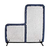 Armor 7X7 Best Baseball L Screen for Batting Cage and On Field Use. Voted Best 7x7 Protective Baseball L-Screen (Navy)