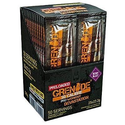 Grenade 50 Calibre Pre Workout by Grenade