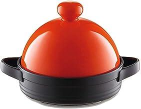 Home 7.5Inch Tajine Cooking Pot, Casserole Pot Saucepan Pottery Soup Fire Heat Resistant Milk Noodle Pot Non Stick Porridg...