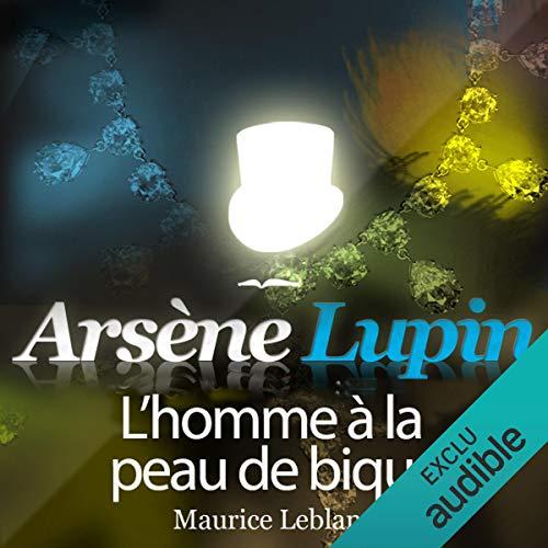 Couverture de L'homme à la peau de bique (Arsène Lupin 30)
