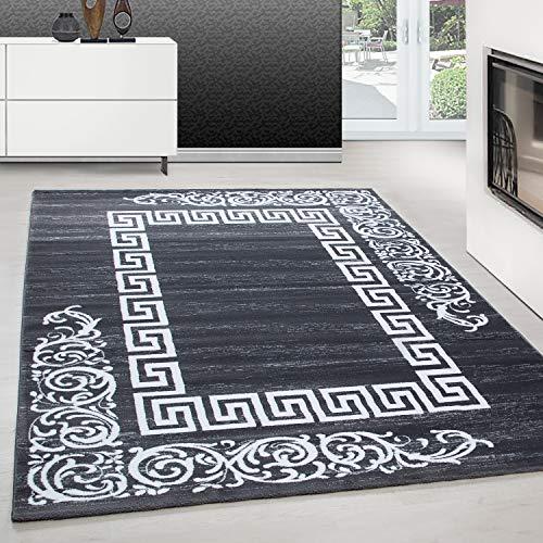 Tapijt modern design tapijt rechthoek Versace patroon met barok grijs, Afmetingen:160 cm x 230 cm