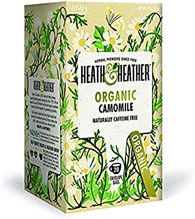 Heath & Heather Té de Manzanilla Orgánica, 20 sobres
