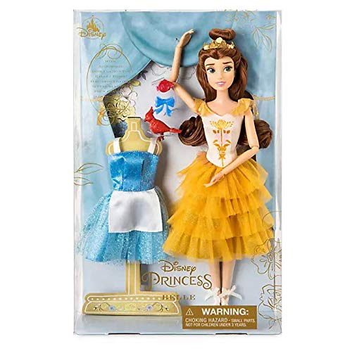 Offizielle Disney Beauty and the Beast - 28 cm Belle Ballettpuppe