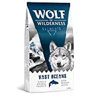 Single Protein Fish: animal protein exclusively from herring, 40% fresh With natural ingredients: nutrient-rich marine algae Grain-free: also suitable for dogs with grain sensitivities No chicken: only fish protein