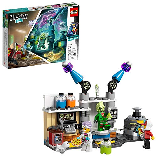 LEGO Laboratorio de Fantasmas de J.B. Hidden Side, 70418, Building Kit de 174 Piezas