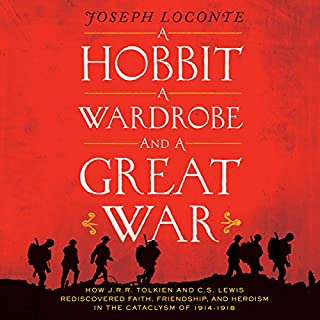 Couverture de A Hobbit, A Wardrobe and a Great War