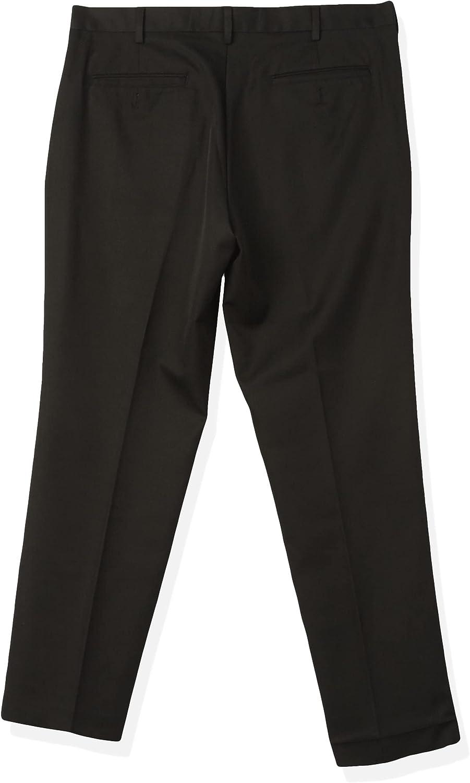Arrow Choice Men's Philadelphia Mall Flat Front Straight Fit Twill Dress Micro Solid Pant