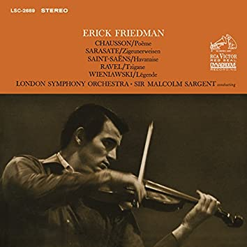 Friedman Plays Chausson, Sarasate, Saint-Saens, Ravel & Wieniawski