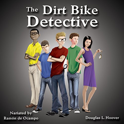 The Dirt Bike Detective audiobook cover art