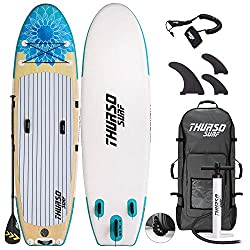 Thurso Surf inflatable paddle board for yoga