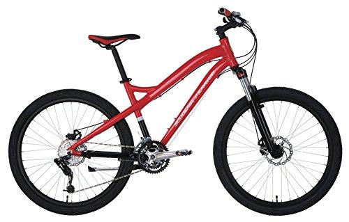 Ferrari Alloy MTB Series 24-speed Low-Step Mountain Bike (Red/Black)
