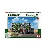 Schmidt Spiele- Fendt 1050 Vario - Puzzle Infantil (60 Piezas, con Amazone Grubber Cenius), Color Blanco (SCH56255)