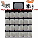 Replacement Gel Pads for all Abdominal Belts ABS Toner Body Muscle Trainer Gel Pads Replacement for Abdominal Toning Belt EMS AB Trainer Waist Trimmer Belt ABS Toner Body Muscle Trainer