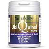 Nature's Best Ubiquinol 100mg |60 Capsules of Advanced Body Ready CO Q10|Pure, Natural & Fresher for Being UK-Made