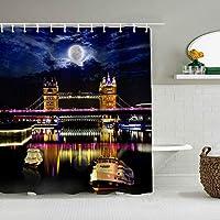 シャワーカーテンアマガエル背景防水バスカーテンフックが含まれていますdBathroom装飾的なアイデアポリエステル生地アクセサリー