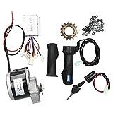 電気モーターキット、MY1025Z2DIYブラシモーターセット電動自転車スクーター24V250W用電気変換キット
