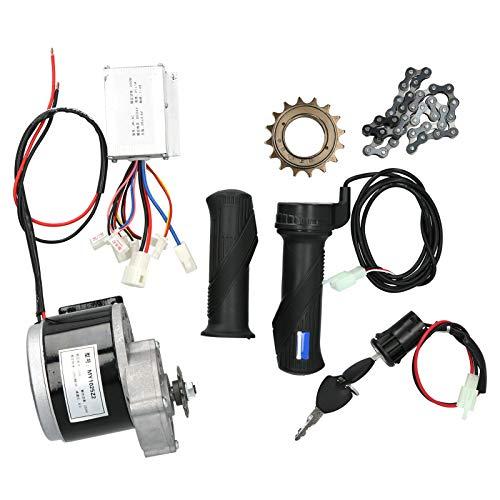 Deryang Kit de conversión eléctrica, Kit de Controlador de Motor de Alto Rendimiento de 2950 RPM, para Scooters, Bicicletas de Bricolaje, patinetas, triciclos