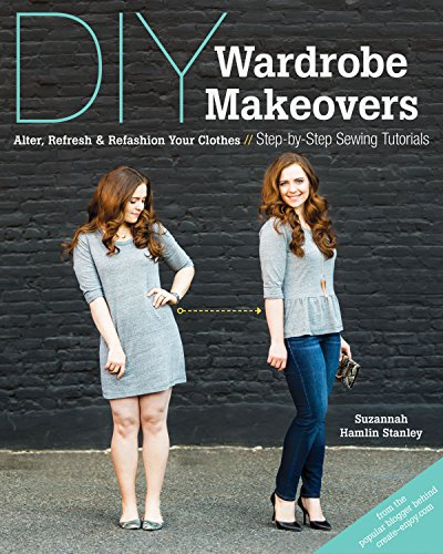 DiY Wardrobe Mackovers book from Amazon to refashion and upcycle old clothing into something new