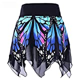 Lazzboy Frauen-Schmetterlings-Art- und Weisemädchen-reizvolle hohe Taillen-Uniform...