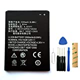 for T-Mobile/MetroPCS ZTE Avid Plus Z828 Replacement Battery Li3823T43P3h735350 with Tools Adhesive