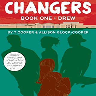 Changers audiobook cover art
