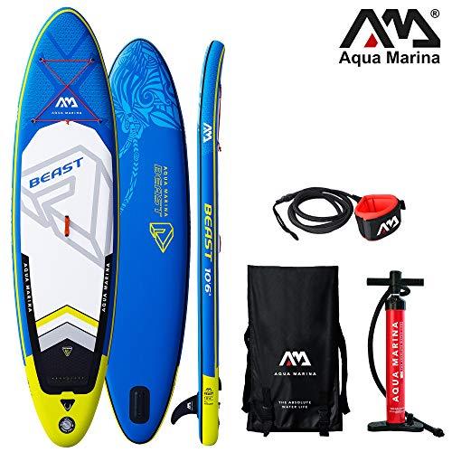 Aqua Marina Beast aufblasbares SUP - ISUP, Stand Up Paddelboard 320x81x15cm