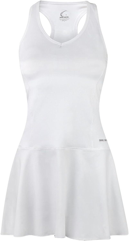 Cruise Control Wimbledon White Fit & Flair Dress
