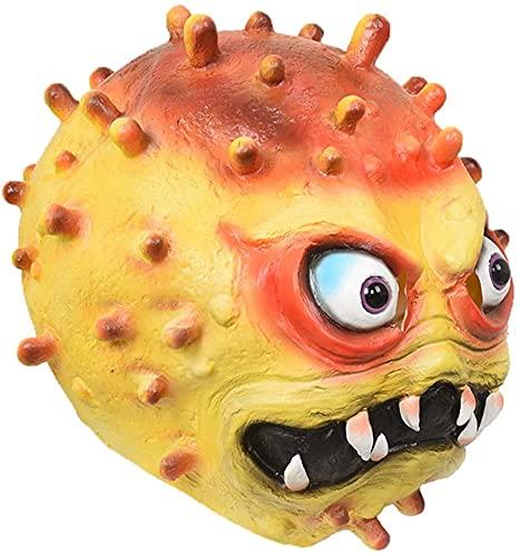 Milu deer Máscara Virus Accesorios Propaganda Antiepidémica, Máscara Disfraces Halloween, Accesorios para La Cabeza Cosplay para Fiesta Halloween (Color : Yellow, Size : One Size)