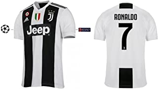 73c19ac819 Marcas Camiseta Niños Juventus 2018 – 2019 Home UCL – Cristiano Ronaldo 7