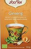 Yogi Tea Té Flor de Ginseng - 17 unidades
