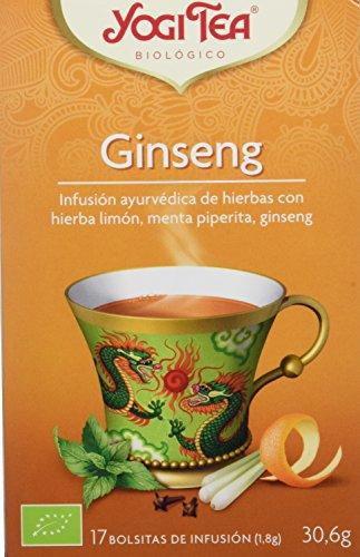 Yogi Tea Infusion de Hierbas Ginseng - 17 bolsitas
