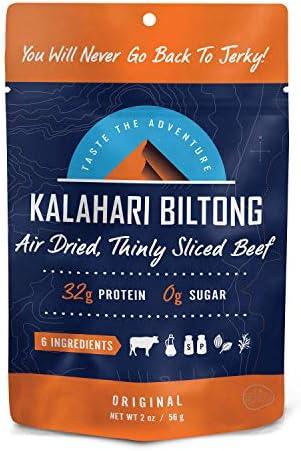 Original Kalahari Biltong Air Dried Thinly Sliced Beef 2oz Pack of 1 Sugar Free Gluten Free product image